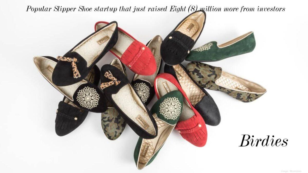 Birdies – Popular Slipper Shoe startup raised Eight million from investors