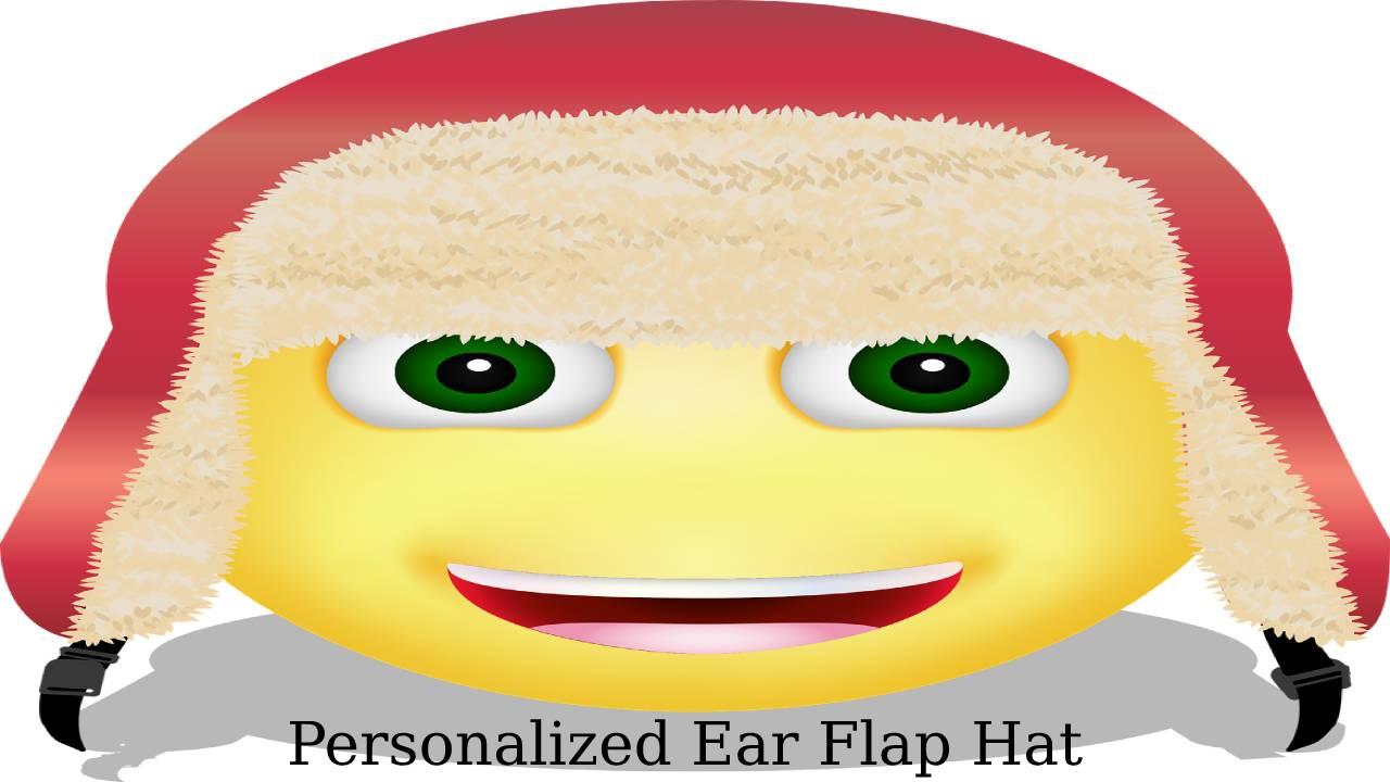 Personalized Ear Flap Hat