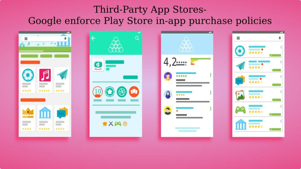 Third-Party App Stores-Google enforce Play Store in-app purchase policies