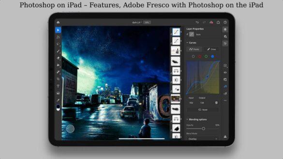 Photoshop on iPad