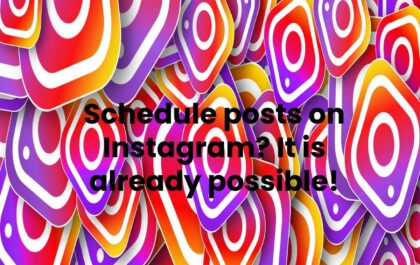 Schedule posts on Instagram? It is already possible!